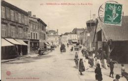 497- Sermaize Les Bains  - La Rue De Vitry - Sermaize-les-Bains