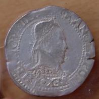 Henri III Franc Col Plat Bordeaux - 987-1789 Monnaies Royales