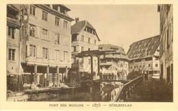 67 - LE STRASBOURG DISPARU - LE PONT DES MOULINS - 1875 - Strasbourg
