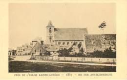 67 - LE STRASBOURG DISPARU - PRES DE L'EGLISE STE-AURELIE - 1867 - Strasbourg
