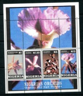 Nigeria 1993 Orchids MS MNH (SG MS668) - Nigeria (1961-...)
