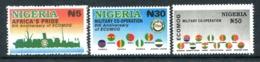 Nigeria 1998 Eight Anniversary Of ECOMOG Set MNH (SG 728-730) - Nigeria (1961-...)