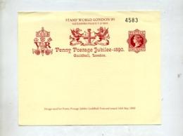 Souvenir Expo Londres 90 Reine - Probe- Und Nachdrucke