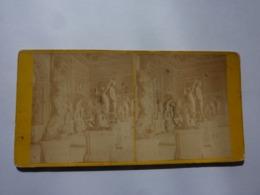 """Fotografia Stereoscopica """"1614 Galerie Des  Centaures ( Musee Du Capitole ) Rome"""" Anonimo, Parigi 1880 Circa. - Stereoscopio"""
