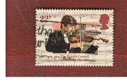 GRAN BRETAGNA (UNITED KINGDOM) -  SG 1264  -  1984 BRITISH COUNCIL: PROMOTING THE ARTS  - USED - Usati