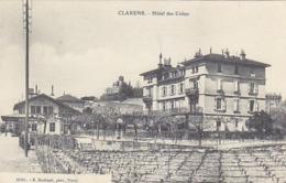 Clarens - Gare Et Hotel Des Crètes - 1910         (P-190-61030) - VD Vaud