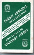 CA Crédit Agricole Jeu  De 32 Cartes Publicitaire - Glacées Lavables - 32 Cartes