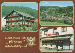 AK Heimbuchenthal Spessart Gasthof Pension Cafe Elsava A Dammbach Hobbach Volkersbrunn Mespelbrunn Roßbach Leidersbach - Miltenberg A. Main