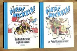 2 ALBUMS LES PIEDS NICKELES : EN PLEINE CORRIDA + ARRIVENT - HACHETTE - 2018 - Books, Magazines, Comics