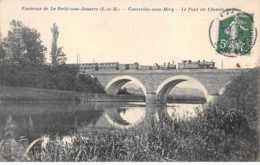 77 - N°61012 - Environs De LA FERTE-SOUS-JOUARRE - Courcelles-sous-Méry - Le Pont Du Chemin De Fer - Train - La Ferte Sous Jouarre