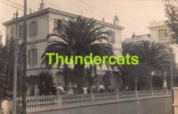 CPA 06 NICE 3 CARTE DE PHOTO VILLA NICE  ( UNE AVEC DECHIRURE - UNE AVEC PLI D'ANGLE ) - Monuments, édifices