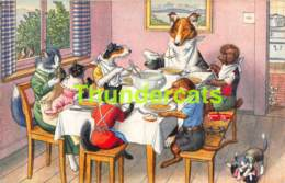 CPA ILLUSTRATEUR ALFRED MAINZER EDIT MAX KUNZLI ARTIST SIGNED CHIEN CHAT DOG CAT DACHSHUND TECKEL POODLE CANICHE - Chiens
