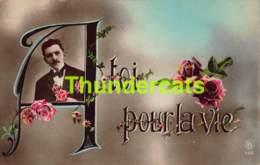 CPA AMOUR LOVE VALENTIN VALENTINE A TOI POUR LA VIE - Saint-Valentin