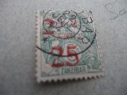 TP Colonies Françaises Zanzibar Oblitéré   N°63 1 Clair En L'état - Zanzibar (1894-1904)