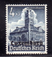GERMAN OCCUPATION OF LUXEMBURG LUXEMBOURG LUSSEMBURGO OCCUPAZIONE TEDESCA 1941 Pf 4 + 3pf MLH - 1940-1944 Duitse Bezetting