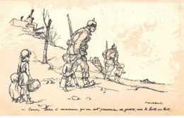 Illustrateur - N°61773 - Poulbot  Editeur Ternois - N°1 Cours Dire � Maman Qu'on Est Prisonnier De Guerre ... - Poulbot, F.
