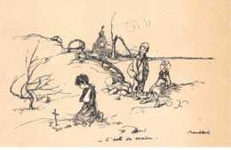 Illustrateur - N°61774 - Poulbot  Editeur Ternois - N°3  C'est Sa Main - Poulbot, F.