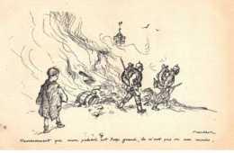 Illustrateur - N°61778 - Poulbot  éditeur Ternois - N°16 Heureusement Que Mon Paletot Est Trop Grand ... - Poulbot, F.