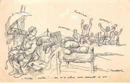 Illustrateur - N°61780 - Poulbot  éditeur Ternois - N°25 Voil�  Voil� ! ... On N'a Plus Une Minute � Soi - Poulbot, F.