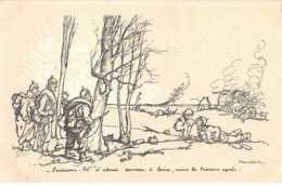 Illustrateur - N°61781 - Poulbot  éditeur Ternois - N°26 Laissons-l� D'abord Donner � Boire  Nous La Tuerons Après - Poulbot, F.
