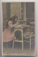 Bébé Est Paresseux - 1904 - Leçon D'école - Écolier - Colorisée - Animée - Phantasie
