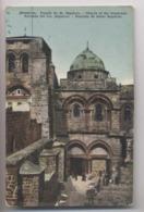 Israël - JERUSALEM - Façade Du Saint Sépulcre - Colorisée - Animée - Israel