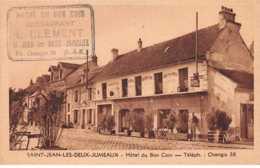 77. N° 105211 .st Jean Les Deux Jumeaux .hotel Du Bon Coin . - Francia