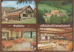 AK Schollbrunn Spessart Gasthof Nickelsmühle A Altenbuch Breitenbrunn Hasloch Esselbach Altfeld Bischbrunn Michelrieth - Miltenberg A. Main