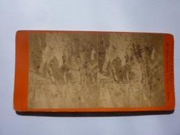 """Fotografia Stereoscopica """"VUES  DE SAVOIE"""" E. Deman Photographe D'Aix Les Bain 1880 Circa - Stereoscopio"""