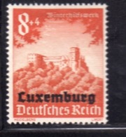 GERMAN OCCUPATION OF LUXEMBURG LUXEMBOURG LUSSEMBURGO OCCUPAZIONE TEDESCA 1941 Pf 8 + 4pf MLH - 1940-1944 Duitse Bezetting