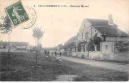77. N° 103609 .coulommes .maison Barre . - Francia