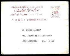 LETTRE AU THÈME HORTICULTURE ANDRÉ DUTRIE - 1960 - STENWERCK - - Agricoltura