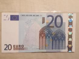 BILLET 20 EURO NEUF - EURO