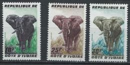 Côte D'Ivoire YT 177-179 XX / MNH - Côte D'Ivoire (1960-...)