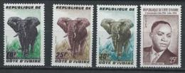Côte D'Ivoire YT 177-180 XX / MNH - Côte D'Ivoire (1960-...)