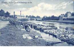 Belgique - N°61250 - MENIN - La Lys Et Le Rouissage Du Lin - Menen