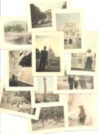 Lot De 15 Photos Colorisées ( +/- 6 X 9 Cm ) - PARIS En  +/- 1950 (b259) - Places