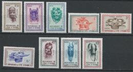 Côte D'Ivoire YT 181-189 XX / MNH - Côte D'Ivoire (1960-...)