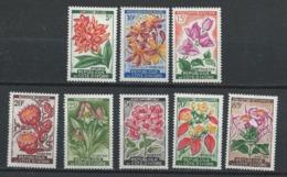 Côte D'Ivoire YT 192A-198 XX / MNH Fleur Flower Flore Flora - Côte D'Ivoire (1960-...)