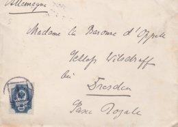 Russie Lettre Pour L'Allemagne 1899 - 1857-1916 Empire