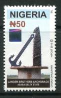 Nigeria 2011 50n Lander Brothers, Anchorage - Type III - MNH (SG 892) - Nigeria (1961-...)