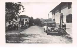 Espagne. N° 104224 .autobus .carte Postale Photo .frontera Espanola De Dancharinea . - Navarra (Pamplona)
