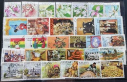 Ghana Mixed LOT USED  Postage Fee To Be Added On All Items - Ghana (1957-...)