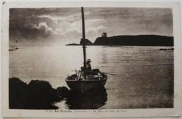 CP1717 - Le Pouldu - La Baie Au Clair De Lune - Voyagée - Le Pouldu