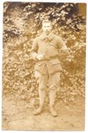 CPP 213 - CARTE PHOTO - MILITARIA - Agent De Liaison Du 12e Cuirassier à Pied - Vers 1919-1920 - Uniforms
