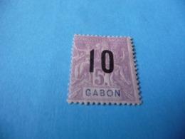TIMBRE  GABON     N  78      COTE 6,00  EUROS    NEUF  TRACE  CHARNIÈRE - Gabon (1886-1936)