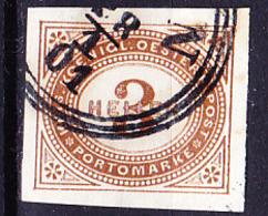 Österreich Austria Autriche - Portomarken/taxe (MiNr: 12) 1899 - Gest Used Obl - Strafport