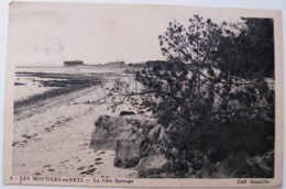 CP1907 - Les Moutiers-en-Retz - La Côte Sauvage - Voyagée - Les Moutiers-en-Retz