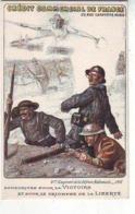 MILITARIA .GUERRE 1914.1918. PATRIOTIQUES . CREDIT COMMERCIAL DE FRANCE . 4iéme EMPRUNT De La Défense NATIONALE . 1918 - Guerra 1914-18
