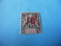 TIMBRE  GABON     N  73      COTE 1,50  EUROS    NEUF  TRACE  CHARNIÈRE - Gabon (1886-1936)
